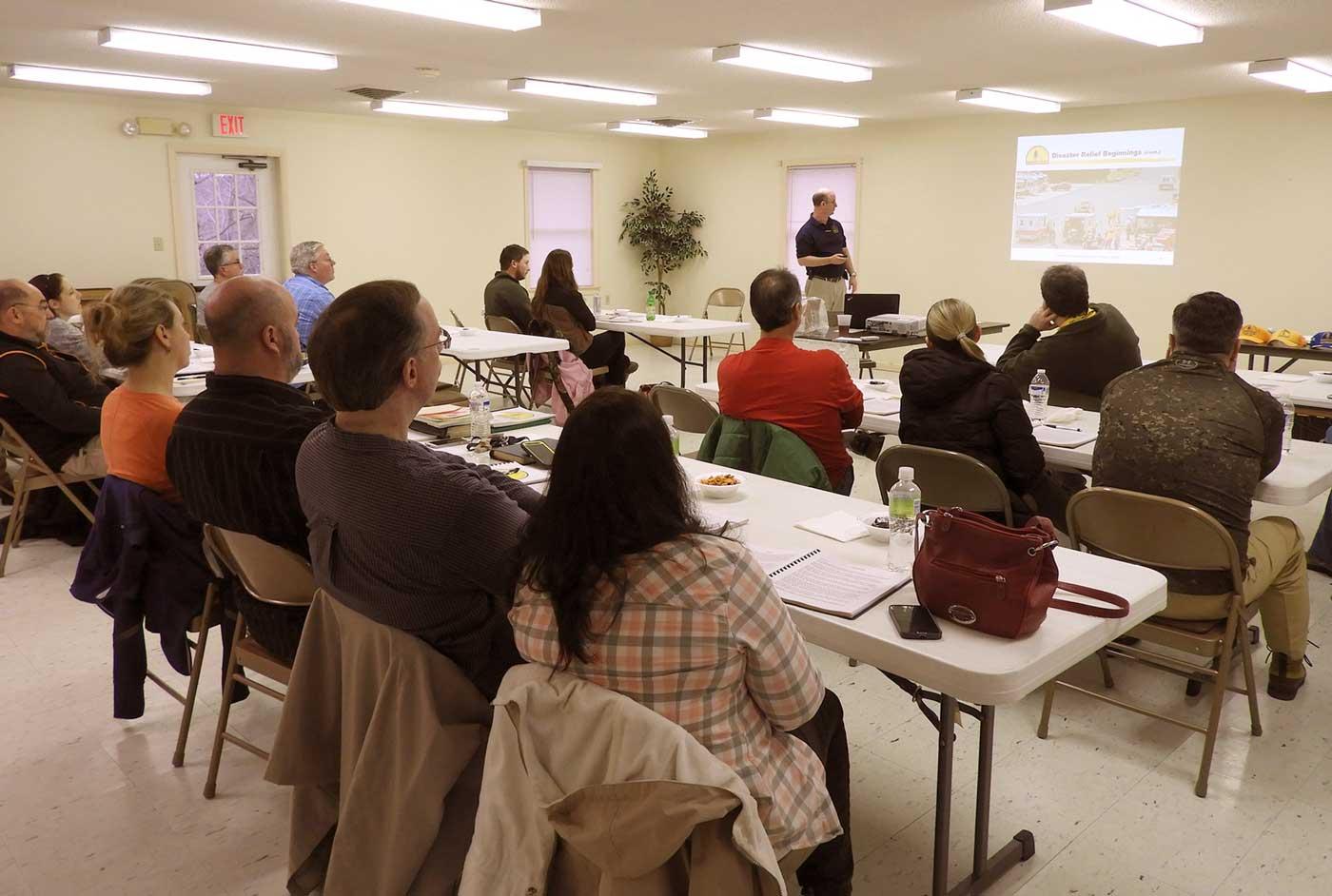 Imagen de un taller formativo dentro del programa elaborado por dinamia para capacitar al personal municipal del Ayuntamiento de Madrid