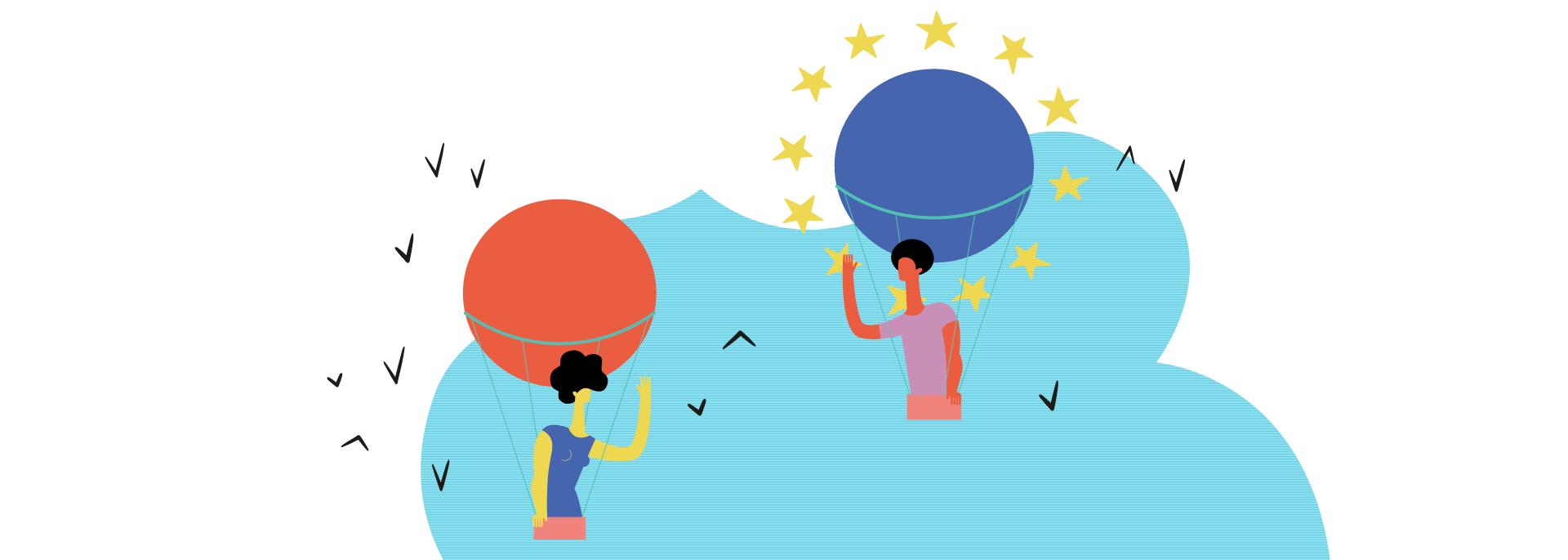Imagen representativa del Área de Proyectos Europeos de Dinamia Consultoría Social